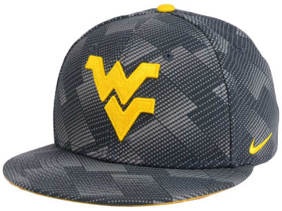 West Virginia Mountaineers Nike NCAA Anthracite Snapback Cap