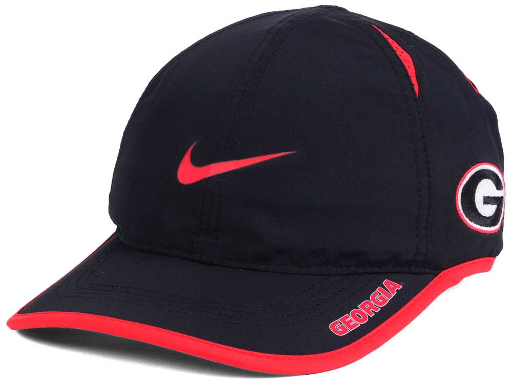 Georgia Bulldogs Nike NCAA Featherlight Cap  c9450a681e9