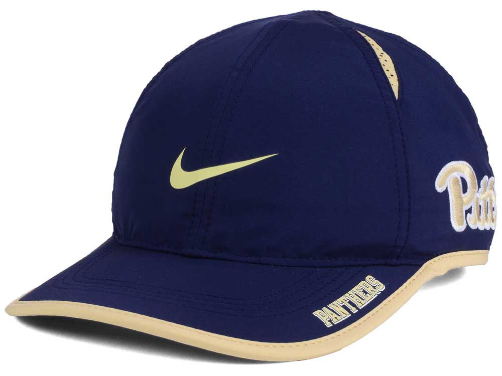 best sneakers 7b54c 42942 inexpensive pittsburgh panthers nike ncaa featherlight cap e2c3e 9fe25