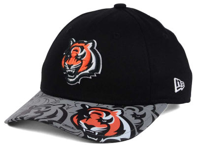 Cincinnati Bengals New Era NFL Youth Reflect Fuse Snapback Cap