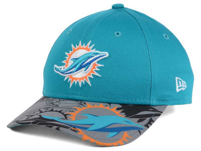 Miami Dolphins New Era NFL Youth Reflect Fuse Snapback Cap