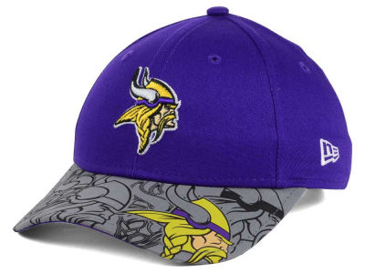 Minnesota Vikings New Era NFL Youth Reflect Fuse Snapback Cap