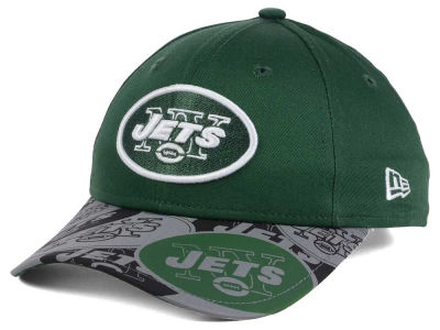 New York Jets New Era NFL Youth Reflect Fuse Snapback Cap