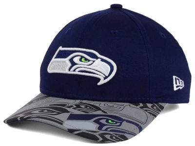 Seattle Seahawks New Era NFL Youth Reflect Fuse Snapback Cap