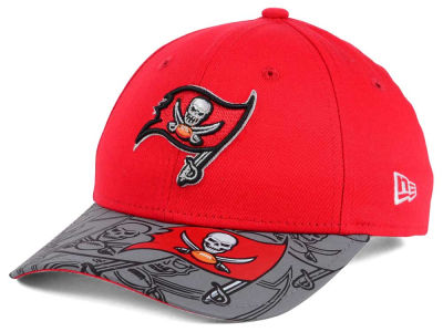 Tampa Bay Buccaneers New Era NFL Youth Reflect Fuse Snapback Cap