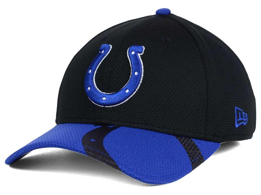 Indianapolis Colts New Era NFL Chrome Tech TC Flex Cap  29651d2d1dd