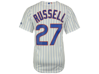 Chicago Cubs Addison Russell Majestic MLB Men's Player Replica CB Jersey