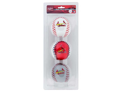 St. Louis Cardinals Softee Triple Play Ball/Set
