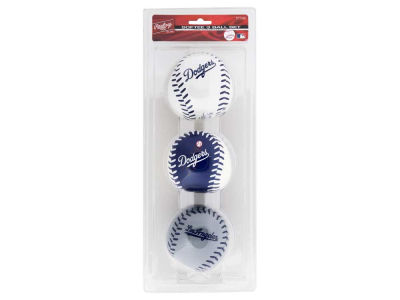 Los Angeles Dodgers Softee Triple Play Ball/Set