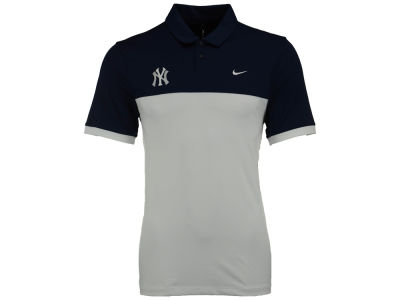 New York Yankees Nike MLB Men's Icon Color Block Polo Shirt