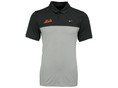 New York Mets Nike MLB Men's Icon Color Block Polo Shirt