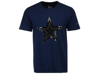 Dallas Cowboys NFL Men's Champ Drive Reflective Logo T-Shirt