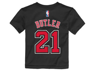 Chicago Bulls Jimmy Butler NBA Toddler Name And Number T-Shirt
