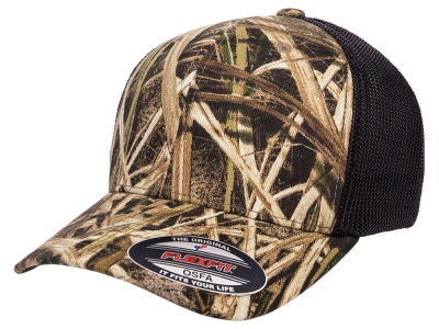 Flexfit Shadow Grass Stretch Mesh Cap