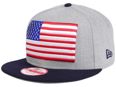 United States of America Heather Grand 9FIFTY Snapback Cap
