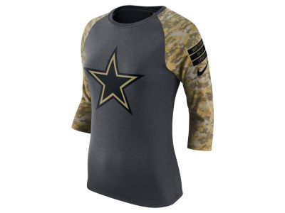 Dallas Cowboys NFL Women's Salute to Service Raglan T-Shirt