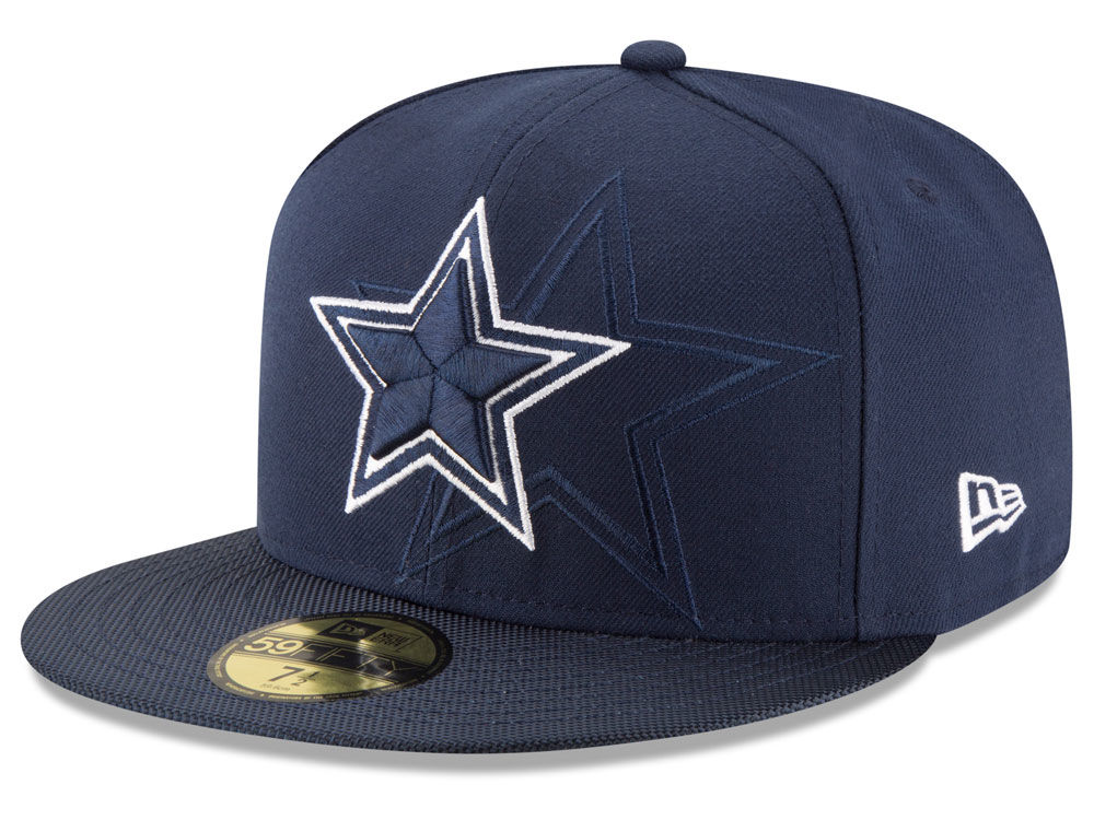 Dallas Cowboys New Era 2016 Official NFL Sideline 59FIFTY Cap  2eb5297c2