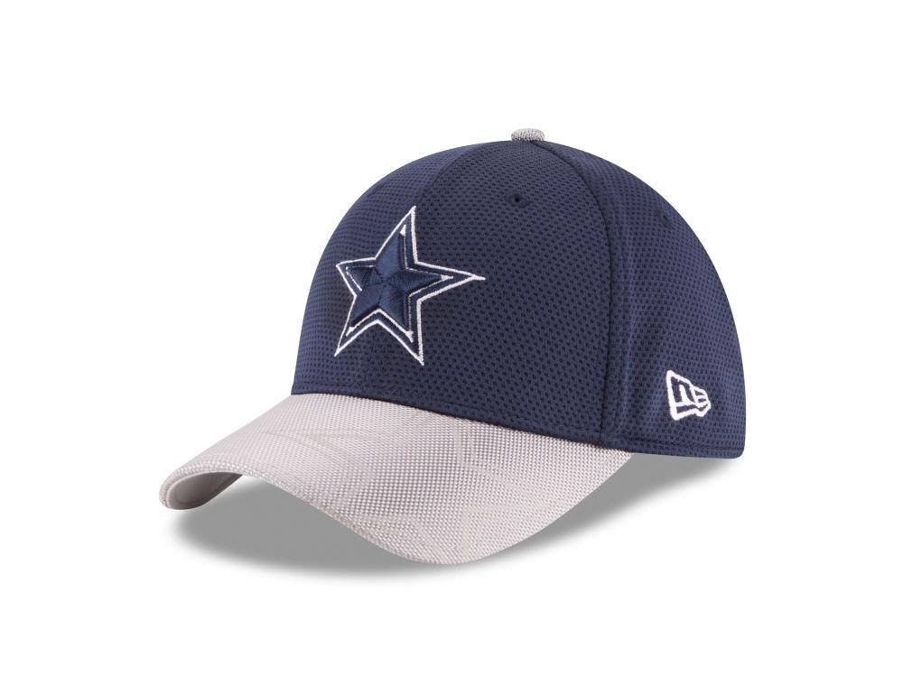 Dallas Cowboys New Era 2016 Official NFL Sideline 39THIRTY Cap ... 5f83c2891af
