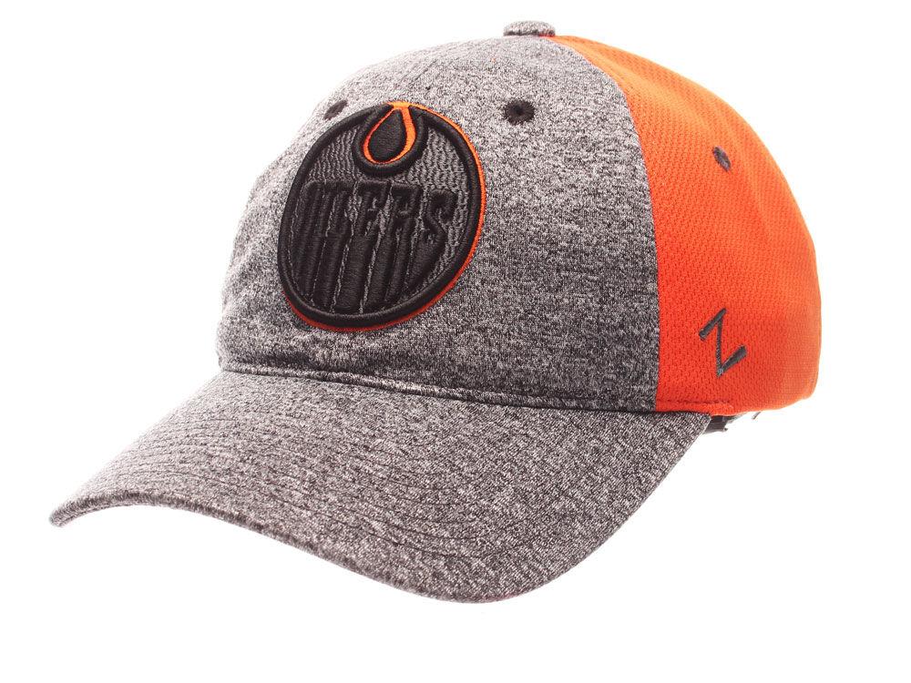 Edmonton Oilers Zephyr NHL Women s Harmony Curved Snapback Cap  05711d493d