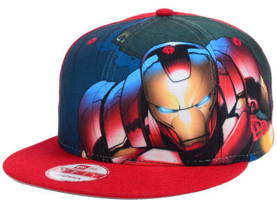 Marvel Logo Fronted 9FIFTY Snapback Cap