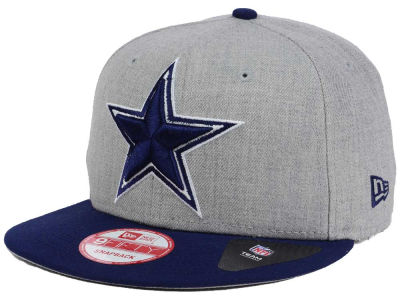 Dallas Cowboys New Era NFL Heather Grand 9FIFTY Snapback Cap