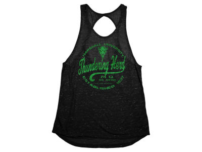 Marshall Thundering Herd NCAA Women's Confetti Twist Back Tank