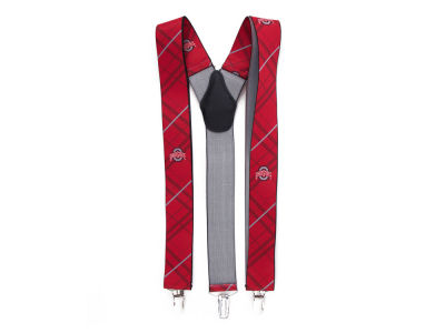 Ohio State Buckeyes Oxford Suspenders
