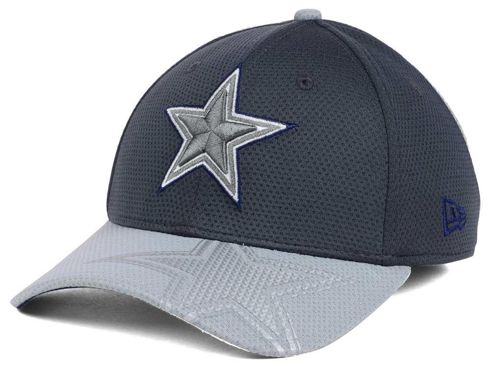 Dallas Cowboys New Era NFL Chrome Tech TC Flex Cap  011ab822b7a
