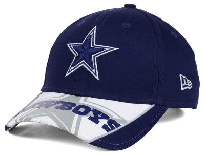 Dallas Cowboys New Era NFL Logo Scramble 9FORTY Cap