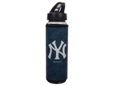 New York Yankees Spirit Neoprene Water Bottle-26 oz