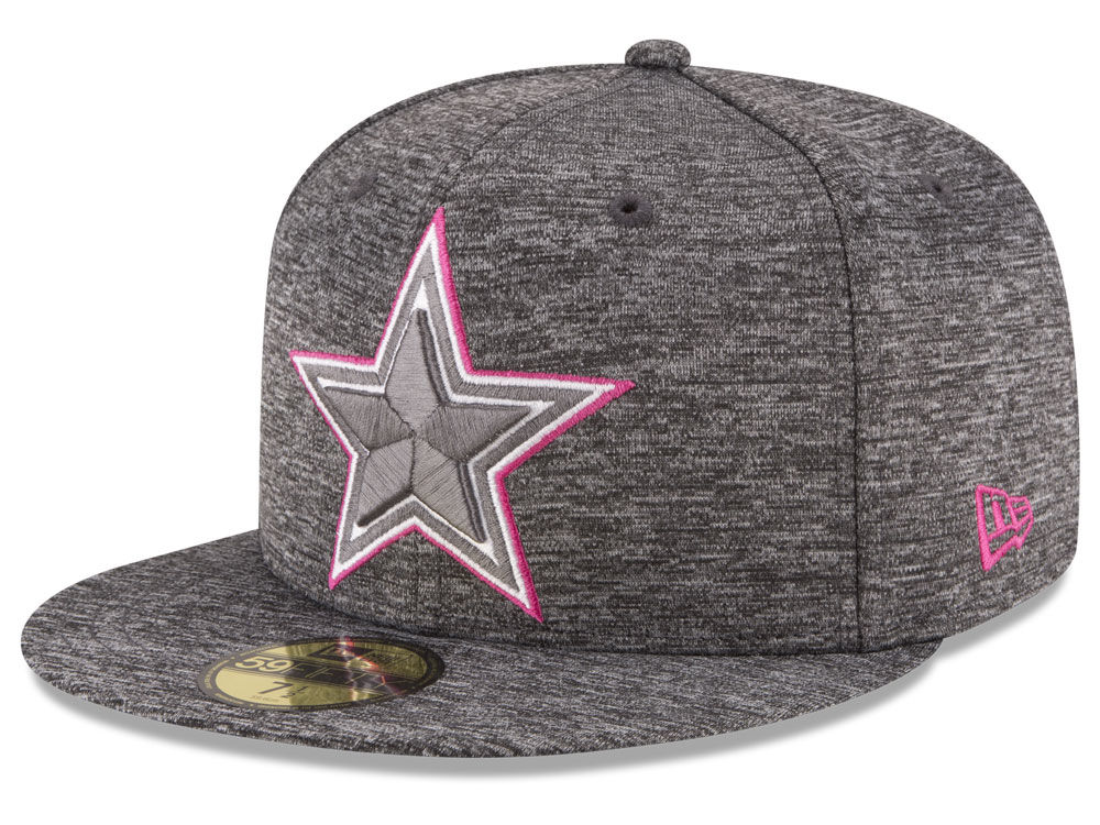 1f878b266 Dallas Cowboys New Era NFL Breast Cancer Awareness Official 59FIFTY Cap