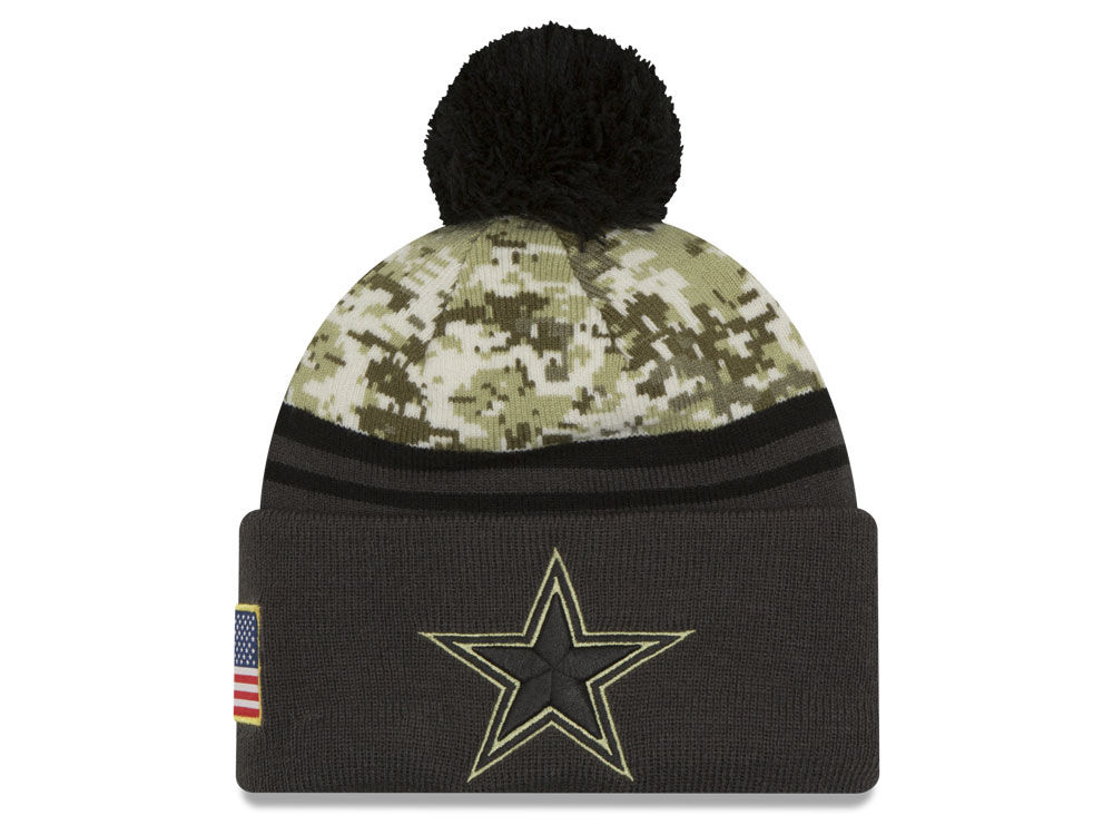 ... netherlands coupon caps camo dallas cowboys new era nfl salute to  service official pom knit b02cf 482589f2f