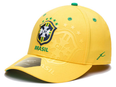 Brazil Fan Ink FI Collection Team Color Flex Cap