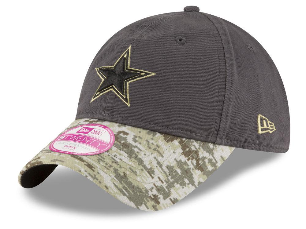 ... ebay dallas cowboys new era nfl salute to service womens 9twenty cap  7ba3b ce975 f6d8d2dc4