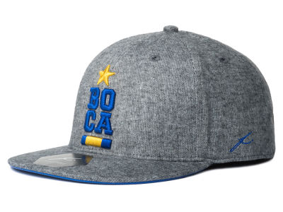 Boca Juniors FI Collection Heather Snapback Cap