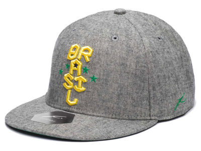 Brazil FI Collection Heather Snapback Cap