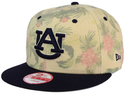 Auburn Tigers New Era NCAA Faded Trop 9FIFTY Snapback Cap