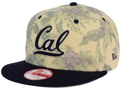California Golden Bears New Era NCAA Faded Trop 9FIFTY Snapback Cap