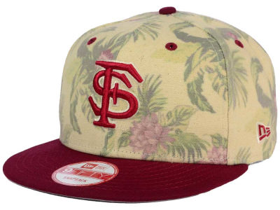 Florida State Seminoles New Era NCAA Faded Trop 9FIFTY Snapback Cap