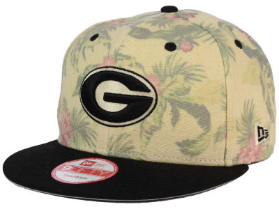 Georgia Bulldogs New Era NCAA Faded Trop 9FIFTY Snapback Cap