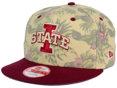 Iowa State Cyclones New Era NCAA Faded Trop 9FIFTY Snapback Cap