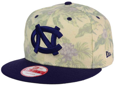 North Carolina Tar Heels New Era NCAA Faded Trop 9FIFTY Snapback Cap
