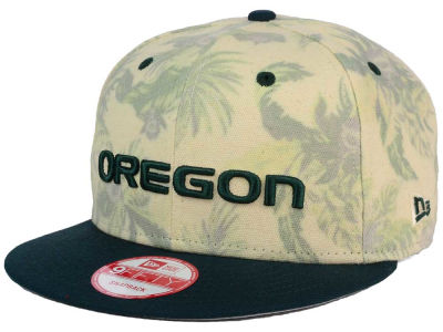 Oregon Ducks New Era NCAA Faded Trop 9FIFTY Snapback Cap