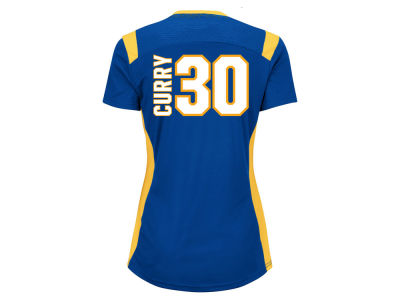 Golden State Warriors Stephen Curry Majestic NBA Women's Draft Him T-Shirt