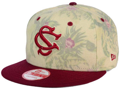 South Carolina Gamecocks New Era NCAA Faded Trop 9FIFTY Snapback Cap