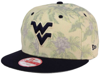 West Virginia Mountaineers New Era NCAA Faded Trop 9FIFTY Snapback Cap