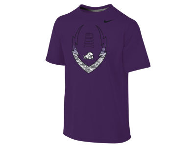 Texas Christian Horned Frogs NCAA Youth Legend Football Icon T-Shirt