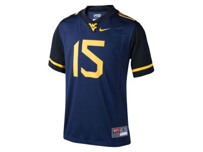 West Virginia Mountaineers Nike NCAA Youth Replica Football Game Jersey