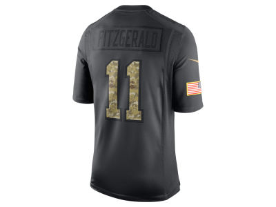 Arizona Cardinals Larry Fitzgerald Nike NFL Men's Salute to Service Jersey