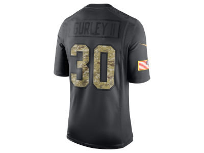 Los Angeles Rams Todd Gurley Nike NFL Men's 2016 Salute to Service Jersey